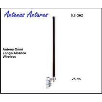 Antena Omni 25dbi - 5,8 Ghz Antares De Longo Alcance