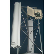Kit Com 03 Antena Painel Setorial 2.4ghz 21dbi 120ºv 120ºh