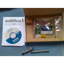 Placa Pci D-link Wireless 108g Dwl-g520 Wifi