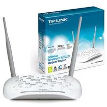Modem Roteador Wifi N Adsl2+ 300mbps Tp Link 8961nd #novo!
