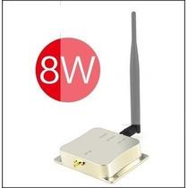Amplificador De Sinal Wireless 8w Wifi 2.4ghz Broadband Rout