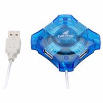 Hub Usb 4 Portas 480mbps Para Pc E Notebbok Maxmax