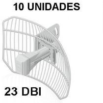 Kit 10antena Ubiquiti Airgrid M5 Agm5-11x14 23 Dbi Com +poe