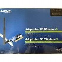 Frete Grátis! Adaptador Wireless Pci Linksys Wmp54g 54mbps