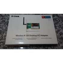 Placa De Rede Pci 150 Mbps D-link Dwa-525!!