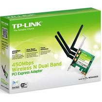 Adaptador Tp Link Pci Express Wireless N 450mbps Tl-wdn4800