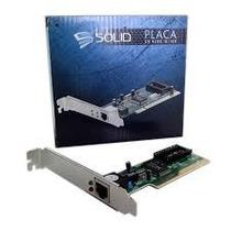 Placa De Rede Solid 10-100