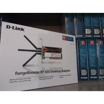 D-link Rangebooster N650- Placa De Rede Wifi Dwa-547 - Novo!