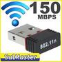 Super Mini Micro Adaptador Usb Wifi 150 Mbps Rede Sem Fio
