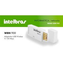 Adaptador Usb Wbn 900 Wireless N - 150 Mbps - Intelbras