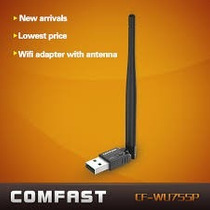 Adaptador Usb Para Wi-fi Com Antena De Alto Ganho De 150mbps