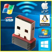 Mini Adaptador Wireless Usb Wifi 150mbps