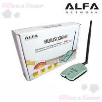 Adaptador Alfa Wireless 2000mw Ralink 3070 Frete Grátis Br