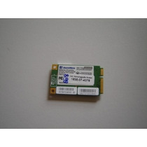 Placa Wireless Wifi Evolute Sfx35 Toshiba Sti 1462 Semi-novo