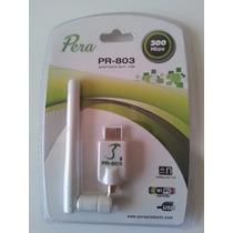 Adaptador Pera Pr-803 Wifi - Usb - Universal