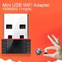 Mini Adaptador Receptor Wireless Usb 150mbps P/ Pc E Note