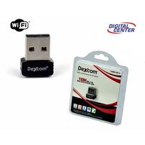 Adaptador Wireless Usb Wifi 150mbps Sem Fio Lan B/g/n Anatel