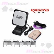 Ad.wireless Usb Kasens 990wg Ralink 3070 6000mw Antena 60dbi