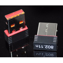 Mini Adaptador Receptor Wireless Usb Nano Wi Fi 150mbps