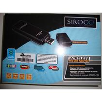 Placa De Rede Wifi Usb Ovislink Siroco Chipset Atheros