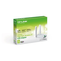 Adaptador Tp-link Usb Wireless N 300mbps De Alto Ganho