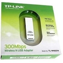 Adaptador Tp-link Usb Wireless N 300mbps De Alto Ganho