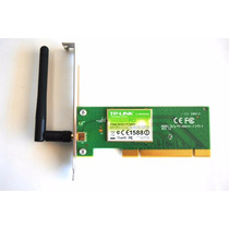 Placa De Rede Wireless Wifi Tp Link Pci Tl Wn350gd - 54mbps