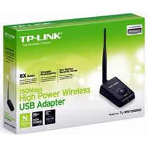 Adaptador Wireless Usb Tp-link Tl-wn 7200 Nd 150mbps 1000mw
