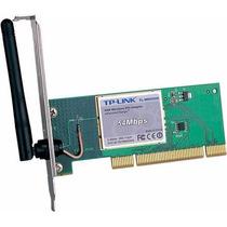 Placa De Rede Wifi Tp-link Tl-wn551g - 54mbps Novo!