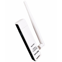 Adaptador Wireless Usb Tp-link C/ Antena Tl-wn722n 150mbps