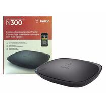 Roteador Wireless Belkin F9k1002 N300 300mpbs 2,4ghz