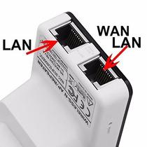 Expansor De Sinal Wireless E Roteador Internet 300mbps N
