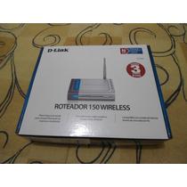 Roteador 150 Wireless D-link Na Caixa Como Novo Na Garantia