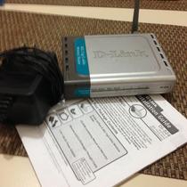 Roteador Sem Fio D-link Wirelless Di-524 150mbps