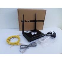Modem Roteador Wireless 2 Antenas N150 D-link Dsl-2740e Gvt