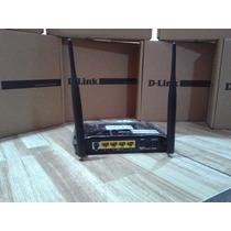 Modem Roteador Adsl2 + Wifi 2740e Desbloqueado D-link