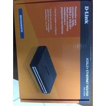 Roteador D-link Adsl2 + Ethernet Router Dsl-500b