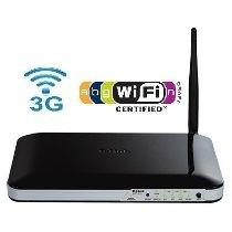 Roteador Wireless D-link Dwr 512 Entrada Chip 3g/300 Mbps