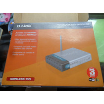 Roteador Wireless D-link Di-524 150mbps Rede Sem Fio