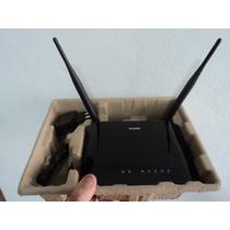 Roteador N-dir-615, 300mpbs, 4 Portas, 2 Antena (novo Caixa)