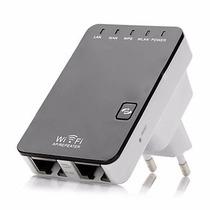 Amplificador Repetidor Sinal Wifi 300mbps 2 Antenas 2dbi