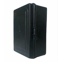 Caixa Hermética Para Rede 20x15x9cm Preta C/ Suportes