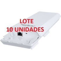 Antena Cpe Wi-fi Intelbras Wom 5000 Nanostation Mimo Lt C/10