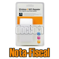 Wifi Repeater N Repetidor 300mbps Amplificador Wireles Novo