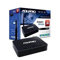 Roteador Aquario Para Modem 3g - Compartilhe Via Wifi