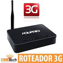 Ap Roteador Wireless 3g 150 Mbps Aquário Ap3g-2411 5 Portas