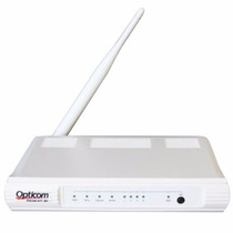 Modem E Roteador Wireless Opticom 150mbps Dslink 477-m1