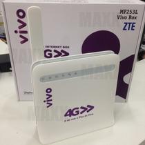 Modem 4g 3g Roteador Wifi Zte Mf253l Vivo Box Promoção Mf253