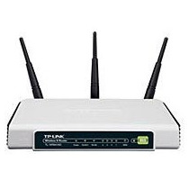 Roteador Tp-link Wireless Tl-wr941nd 300mbps 3 Antenas