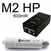 Ubiquiti Bullet-m2-hp Outdoor 2.4ghz 600mw + Poe + Sedex Gra